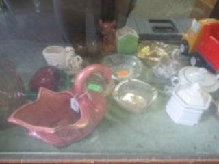 DISPLAY CASE CONTENTS - B1