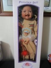 NATIVE AMERICAN BABY DOLL - USR