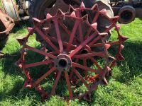 Mongomery Ward steel wheels