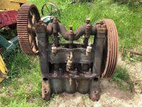 Compressor. Worthington Pump & Machinery. Multi V Drive. Cincinatti Works. Cincinatti, Ohio