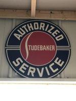 Authorized Service Studebaker sign.