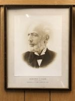 Jerome I. Case picture. 1819-1891 Established J.I. Case company in 1842
