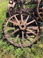 Case steel wheels