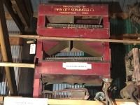 Seed grader. Made by Twin City Seperator Company