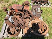 Gas engines & pulleys