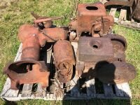 Gas engines & cream separater
