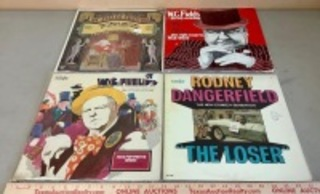 W.C Fields, Rodney Dangerfield Record Albums