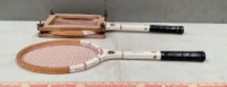 Golden Lion Wood Tennis Racquets