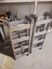 Set of tri-fold ramps