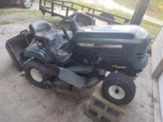 Craftsman LT1000 riding mower(condition unknown, no key)