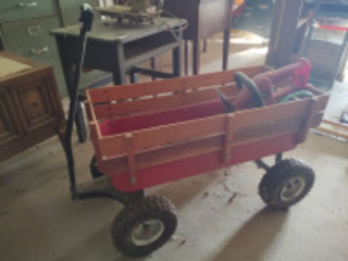 Wagon w/ contents