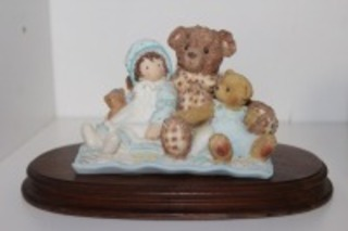 CHERISHED TEDDIES ELMER AND FRIENDS NUMBER TO STATUE