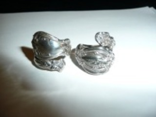 LOT OF 2 STERLING SILVER RINGS