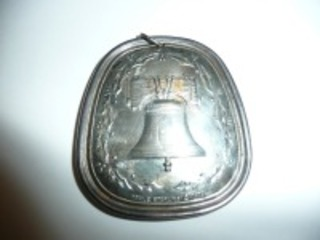 1976 STERLING SILVER TOWEL ORNAMENT