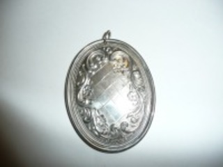 1975 STERLING SILVER TOWEL ORNAMENT