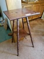 Wood Table 15 5 x 15 5