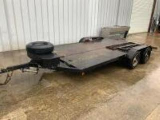 18ft Car Trailer With Winch