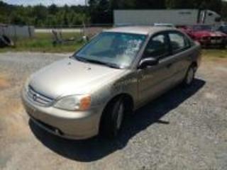 2001 Honda Civic Sedan LX I4, 1.7L