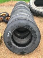(12) 11R22.5 Tires