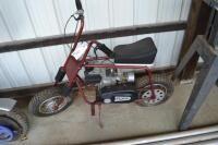 Red Comet mini bike