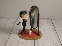 BETTY BOOP AND PUPPY WITH MIRROR