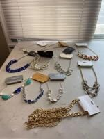 Assortment of Costume Jewelry Necklaces