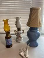 3 Decorative Lamps