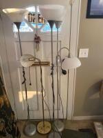 4 Floor Lamps