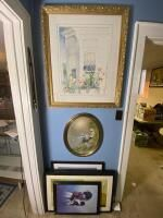 Variety of Framed Wall Art