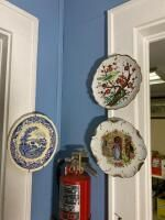 3 Decorative Ceramic Plates