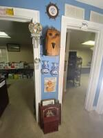Vintage Phone Box, Hanging Wall Art, Etc.