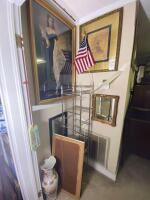 Variety of Framed Wall Art And Misc. Items