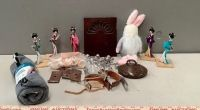 Oriental Dolls, Spurs, and Decor