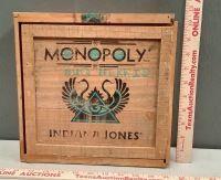 Wood Monopoly Indiana Jones Box