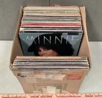 Box of Record Albums