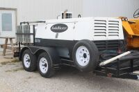 Soda Blast Systems Mobile 500 Unit includes 250 pound blasting unit with dryers and 50' hose and accessories.