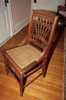 ANTIQUE CANE SEAT CHAIR - USBR2
