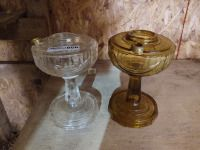 2 Kerosene Lamps