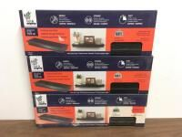 NEW (3) High & Mighty Floating Wall Shelf (18