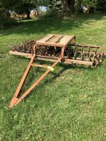 Champion, 2 row rotary hoe pull type - make a great lawn aerator