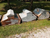 Brower and one ideal pasture style hog creep feeders (3)