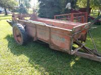 New idea ground driven manure spreader has been stored inside and appears to be in very good condition