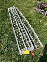 Pair of 7 foot aluminum ramps