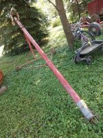 4-in x 15-ft electric motor auger with 1/2 hp motor