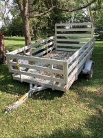 Newman's 580 sports series aluminum trailer with spare tire