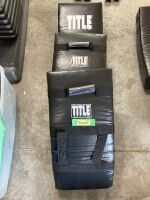 Trio of Title Boxing boxing body shields