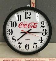 Hanover Coca-Cola Wall Clock