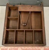 Antique Wood Cash Drawer