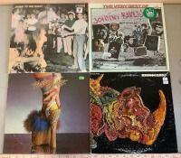 4 Record Albums