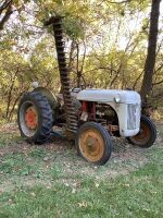 9N Ford tractor w 6' belly mount sickle mower Check out the video of it running on our You Tube channel by clicking the link in the description!